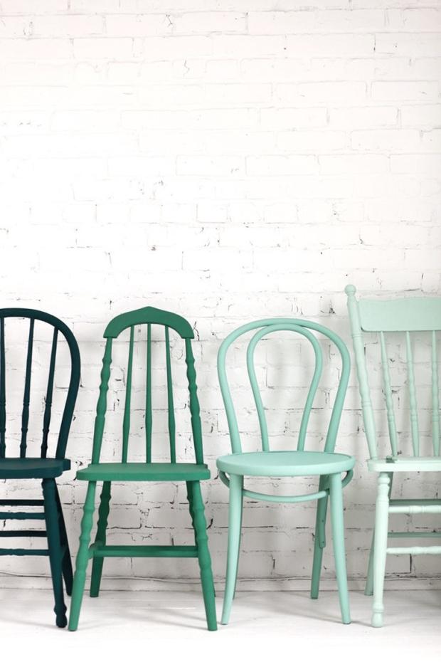 chair, mix, eigenhandig, match, stoel