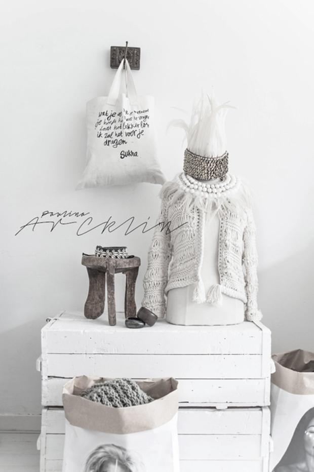 eigenhandig, paulina, arcklin, styling, white
